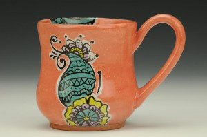 Cantaloupe Ceramic Mug